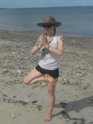 Elizabeth McGlinchey lotus tree pose