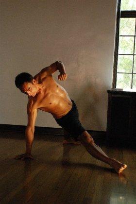 Nick Montoya side plank