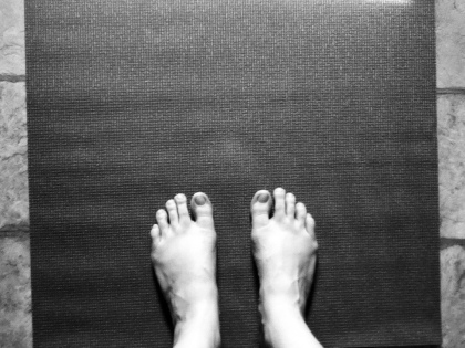 Lindsay Farnworth yoga mat