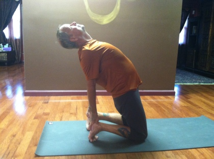Barry Hurchalla camel pose