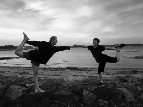 Helen Vostrovsky Holmes yoga pic